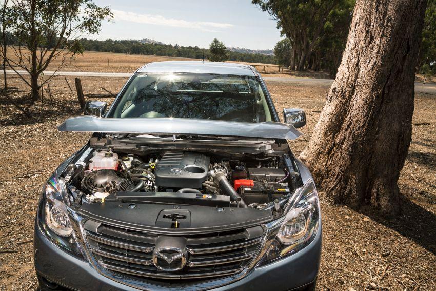 Mazda BT-50 <em>facelift</em> kali kedua diperkenalkan di Australia – rupa lebih segar, pelbagai ciri baharu Image #815299
