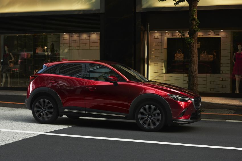 Mazda CX-3 facelift now in Japan, gets new 1.8L diesel Image #822025