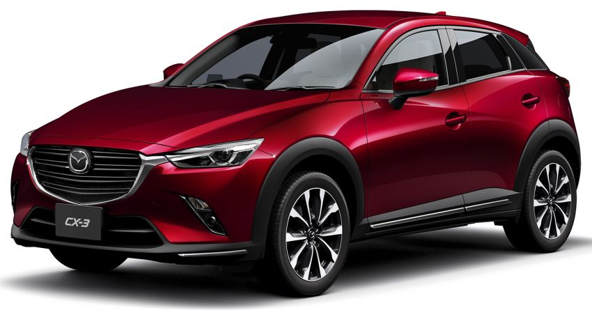 mazda cx 3 facelift now in japan gets new 1 8l diesel. Black Bedroom Furniture Sets. Home Design Ideas