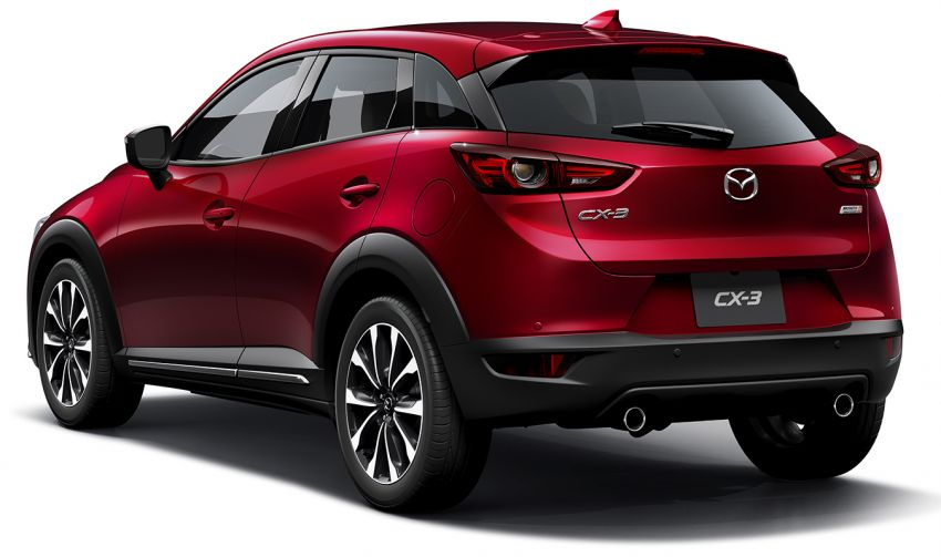 Mazda CX-3 facelift now in Japan, gets new 1.8L diesel Image #821999