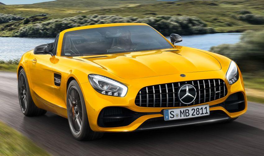 Mercedes-AMG GT S Roadster – GT bumbung boleh buka ketiga, kuasa 515 hp, tork 670 Nm dari enjin V8 Image #817343