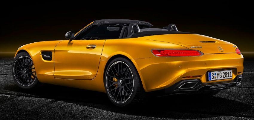 Mercedes-AMG GT S Roadster – GT bumbung boleh buka ketiga, kuasa 515 hp, tork 670 Nm dari enjin V8 Image #817345