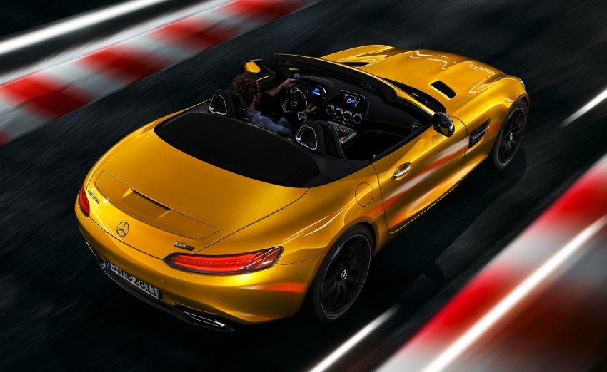 Mercedes-AMG GT S Roadster – GT bumbung boleh buka ketiga, kuasa 515 hp, tork 670 Nm dari enjin V8 Image #817349
