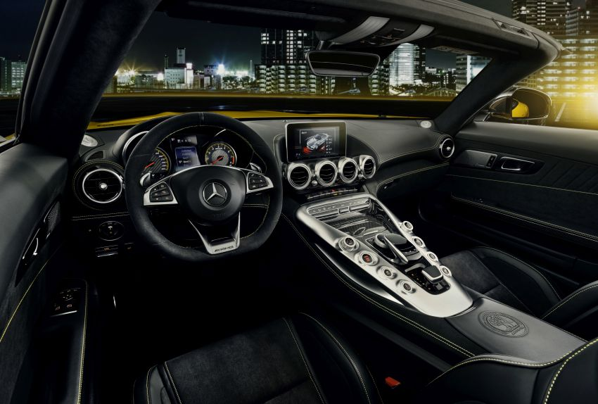 Mercedes-AMG GT S Roadster – the third open-top Image #817337
