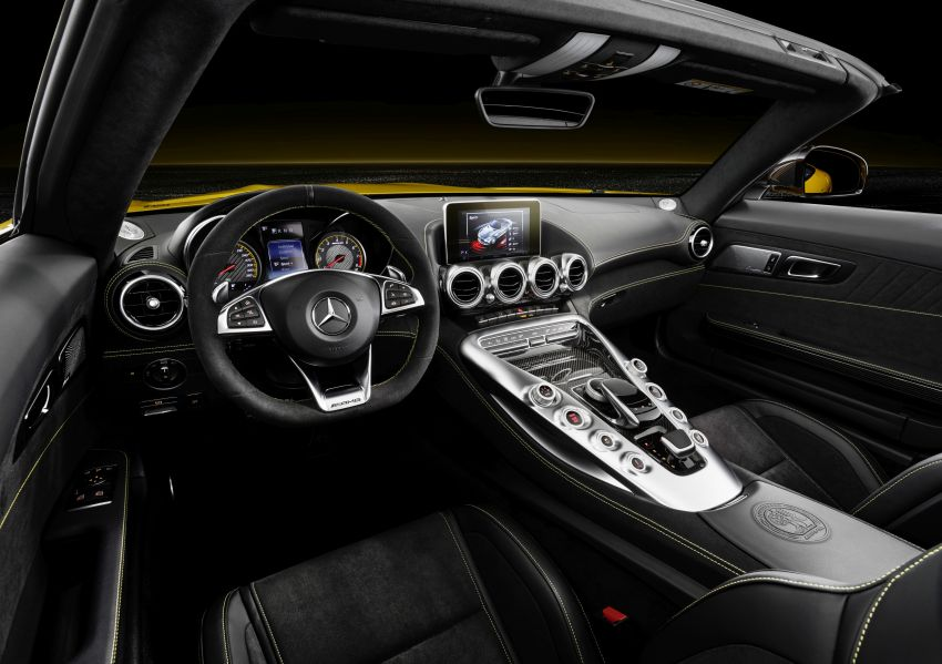 Mercedes-AMG GT S Roadster – the third open-top Image #817338