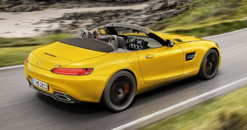 Mercedes-AMG GT S Roadster – the third open-top Image #817312