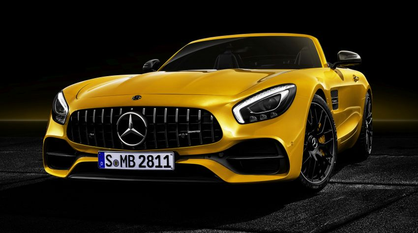 Mercedes-AMG GT S Roadster – the third open-top Image #817313