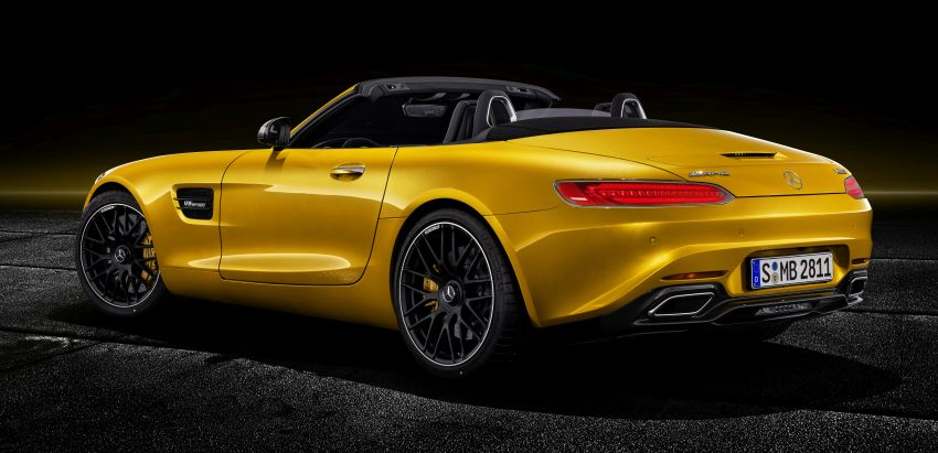Mercedes-AMG GT S Roadster – the third open-top Image #817314