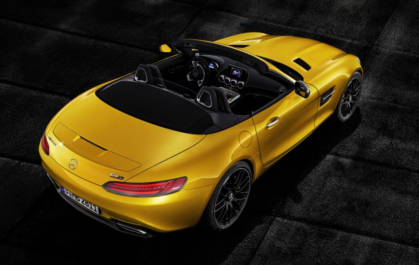 Mercedes-AMG GT S Roadster – the third open-top Image #817315