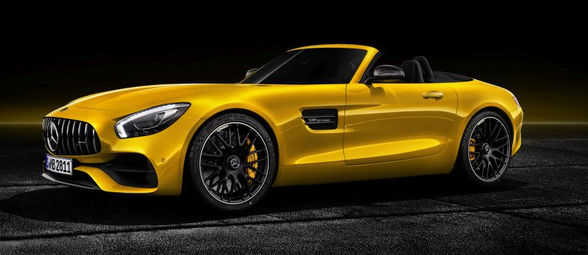 Mercedes-AMG GT S Roadster – the third open-top Image #817336