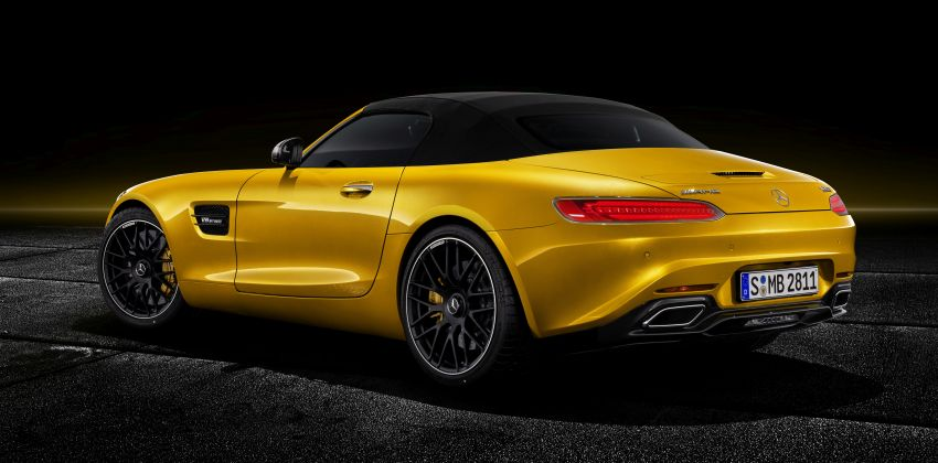 Mercedes-AMG GT S Roadster – the third open-top Image #817317