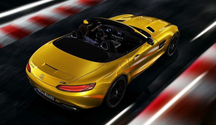 Mercedes-AMG GT S Roadster – the third open-top Image #817335