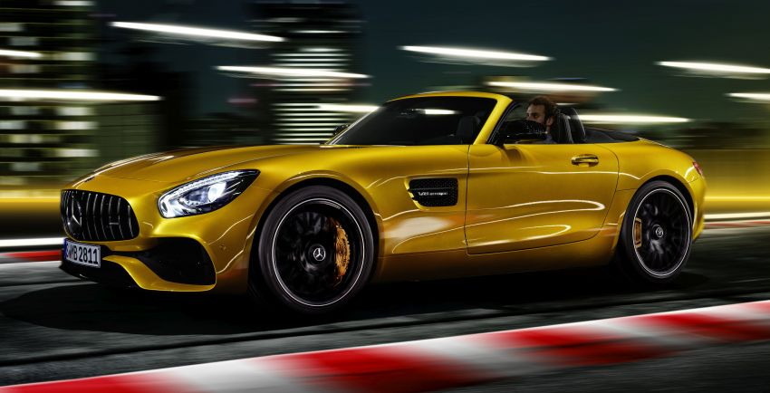 Mercedes-AMG GT S Roadster – the third open-top Image #817319