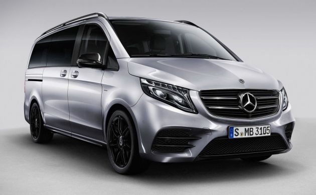mercedes benz v class night edition with amg parts. Black Bedroom Furniture Sets. Home Design Ideas