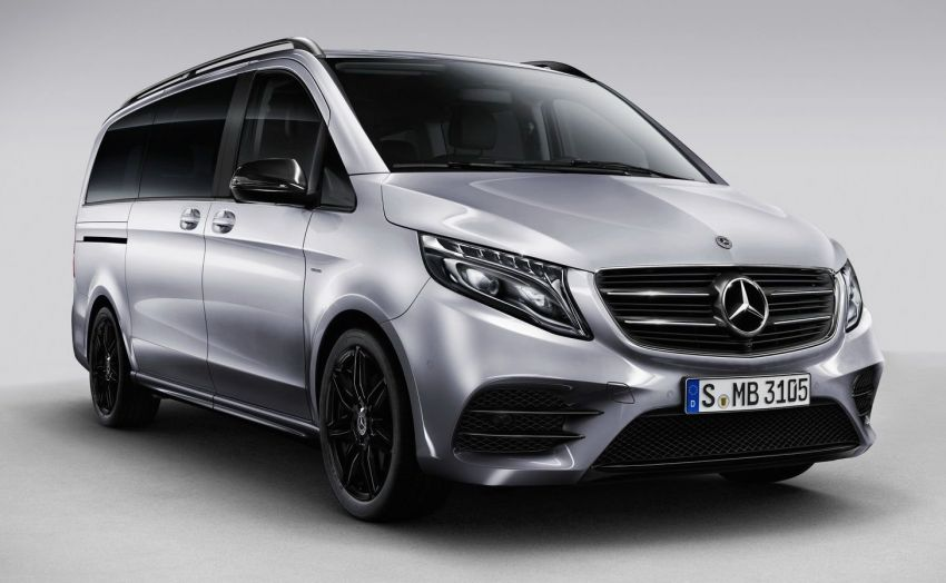 Mercedes-Benz V-Class Night Edition with AMG parts Image #817963