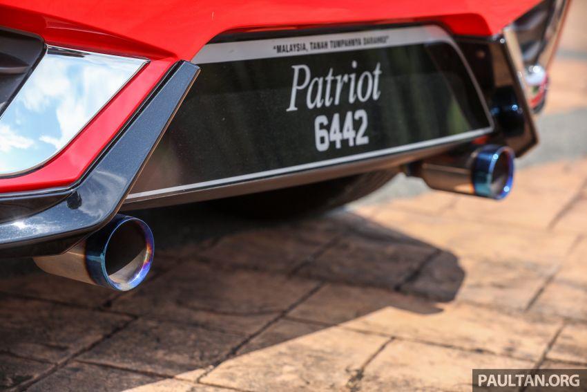 Perodua Myvi, tapi pintu buka macam Lamborghini! Image #815568