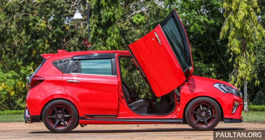 Perodua Myvi, tapi pintu buka macam Lamborghini! Image #815550