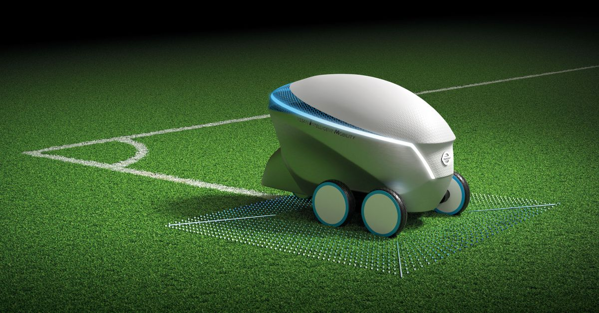 Nissan Pitch R Drawing Football Fields Made Easy