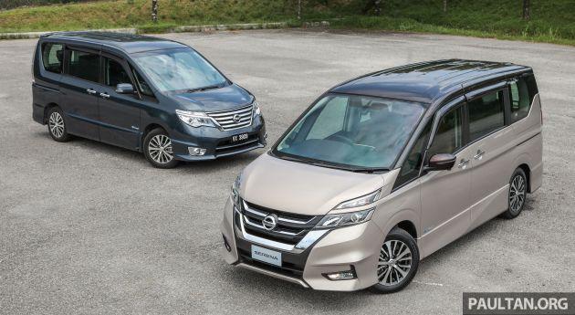 GALLERY: Nissan Serena S-Hybrid, new C27 v old C26