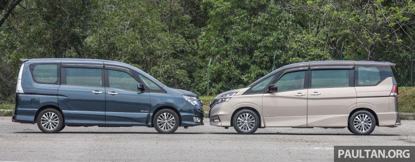 GALERI: Nissan Serena S-Hybrid – lama vs baru Image #817617