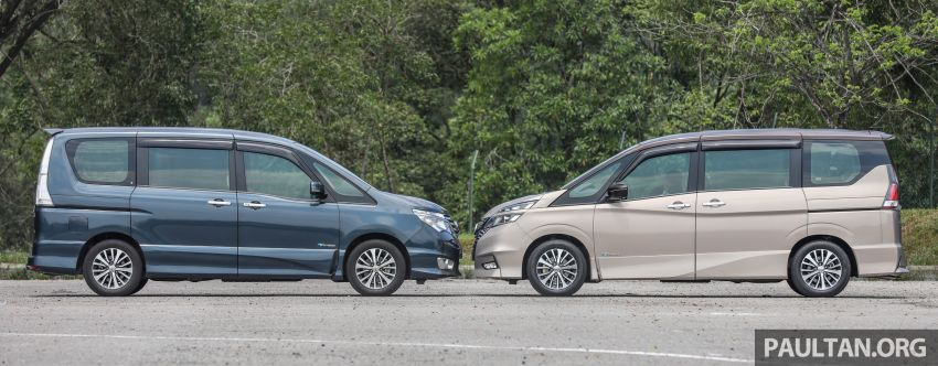GALERI: Nissan Serena S-Hybrid – lama vs baru Image #817618