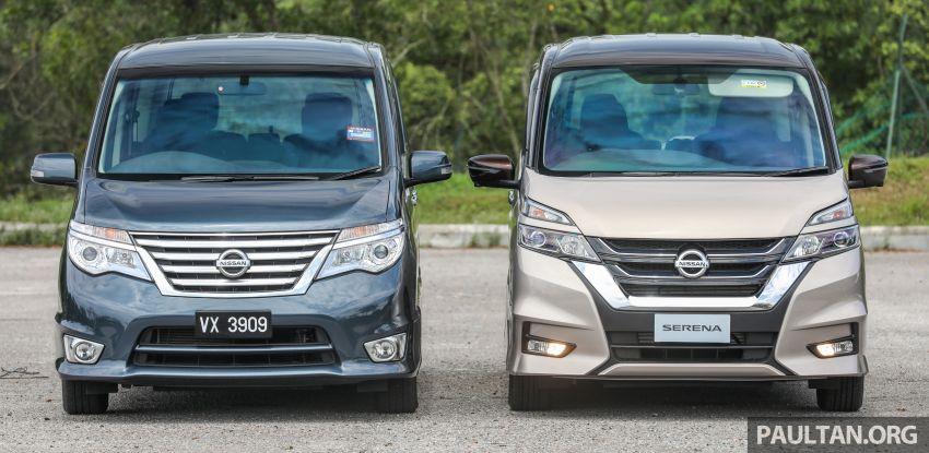 GALERI: Nissan Serena S-Hybrid – lama vs baru Image #817619