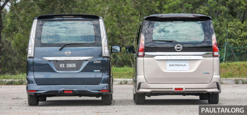 GALLERY: Nissan Serena S-Hybrid, new C27 v old C26 Image #817374