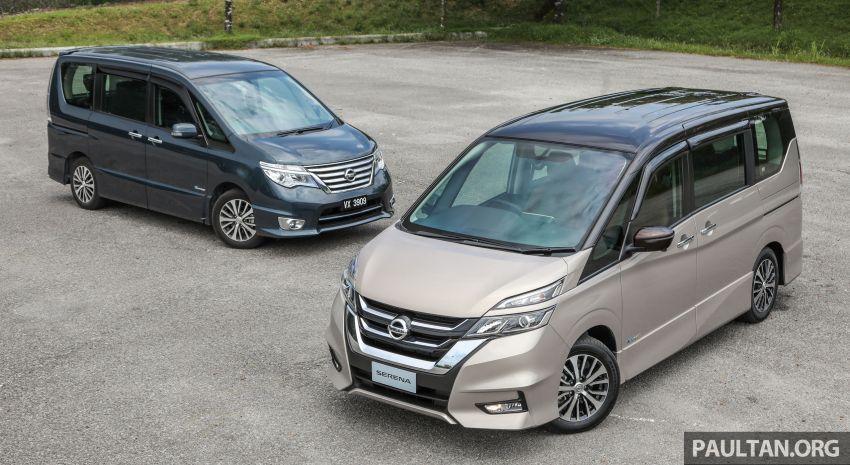 GALERI: Nissan Serena S-Hybrid – lama vs baru Image #817607