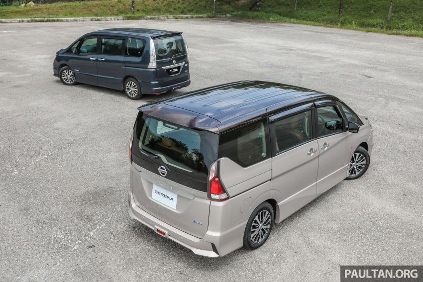 GALLERY: Nissan Serena S-Hybrid, new C27 v old C26 Image #817360