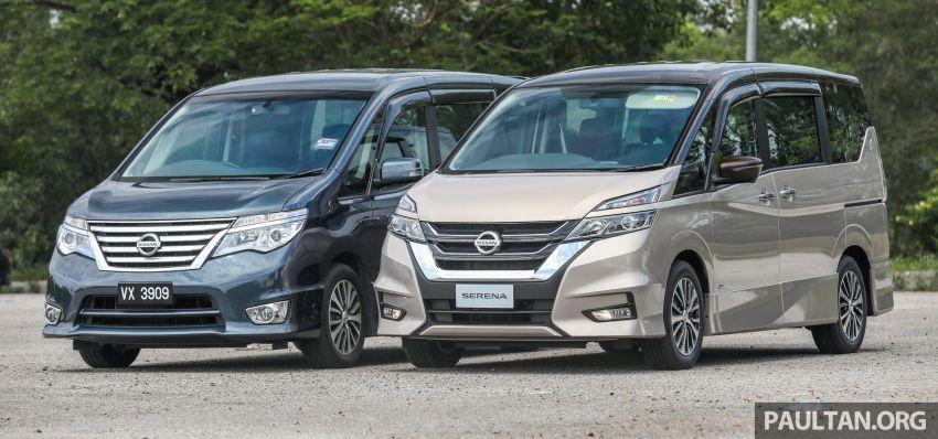 GALLERY: Nissan Serena S-Hybrid, new C27 v old C26 Image #817364