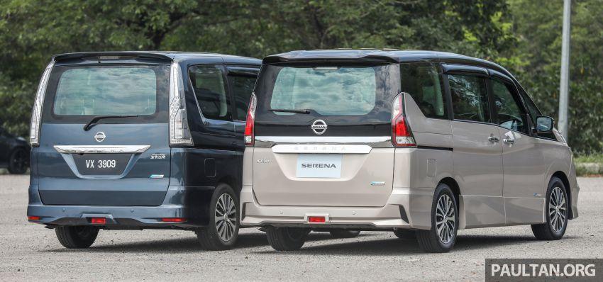 GALERI: Nissan Serena S-Hybrid – lama vs baru Image #817613
