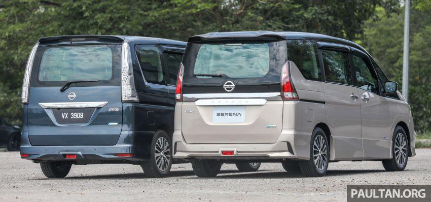 GALERI: Nissan Serena S-Hybrid – lama vs baru Image #817614