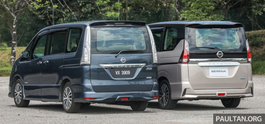 GALERI: Nissan Serena S-Hybrid – lama vs baru Image #817615
