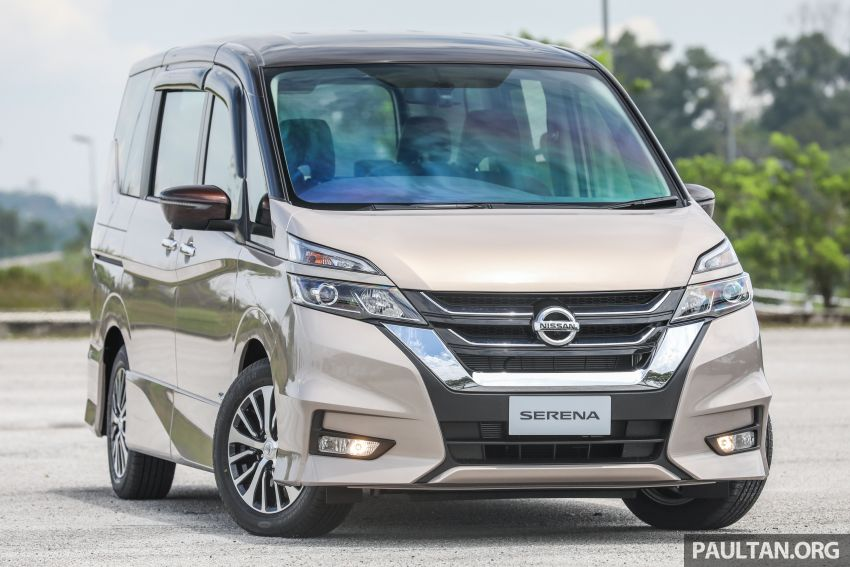 2018 Nissan Serena S-Hybrid launched, from RM136k Image #816558