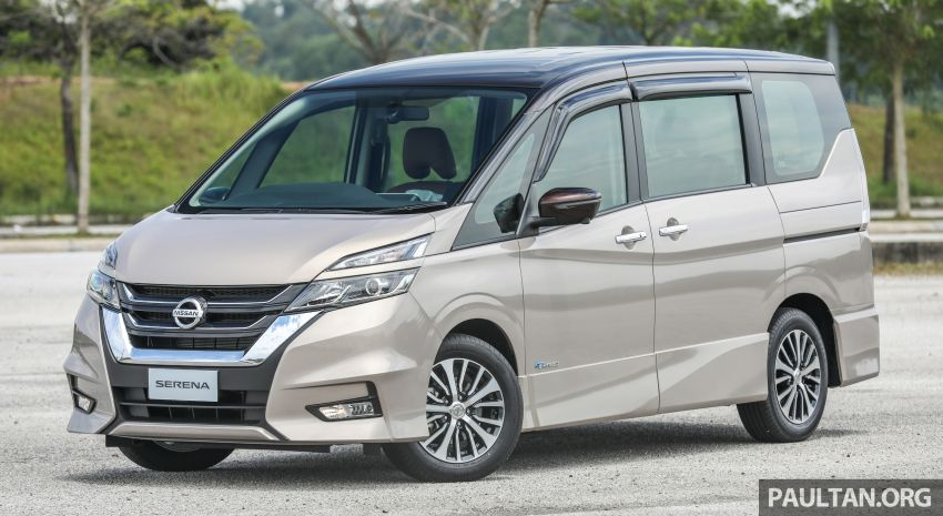 2018 Nissan Serena S-Hybrid launched, from RM136k Image #816559
