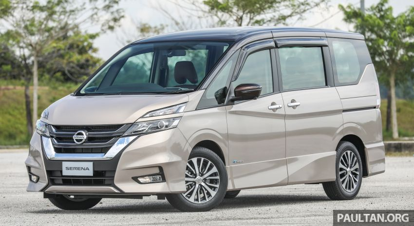 2018 Nissan Serena S-Hybrid launched, from RM136k Image #816560
