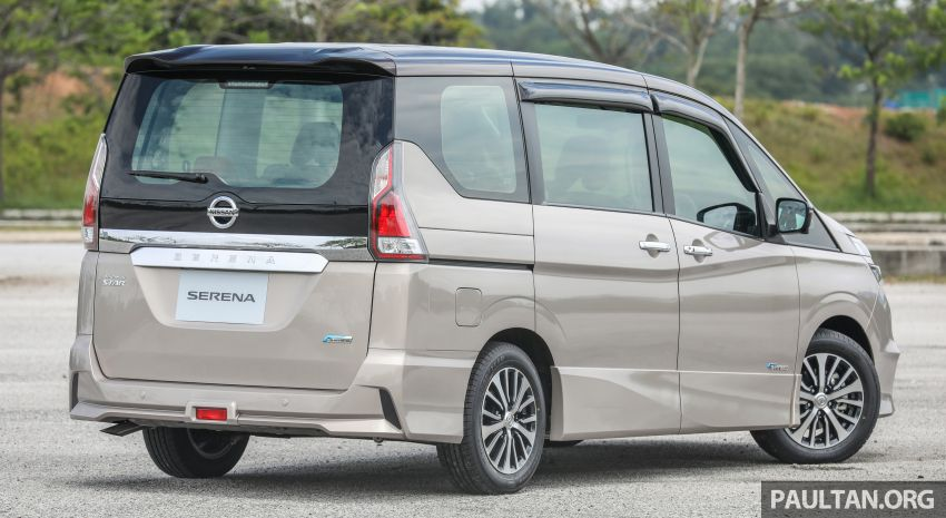 2018 Nissan Serena S-Hybrid launched, from RM136k Image #816561