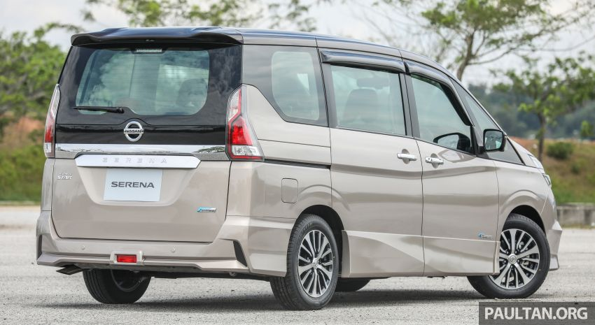 2018 Nissan Serena S-Hybrid launched, from RM136k Image #816562