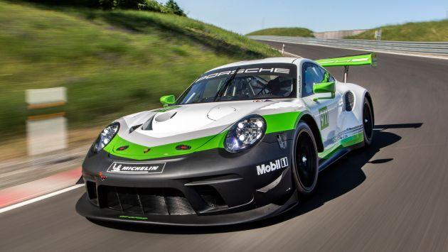 Porsche 911 GT3 R - better aero, safety