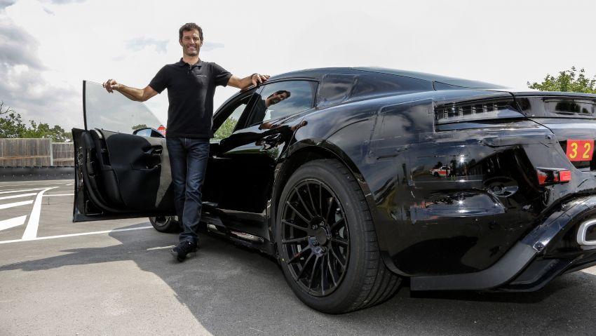 VIDEO: Porsche Mission E test driven by Mark Webber Image #819179
