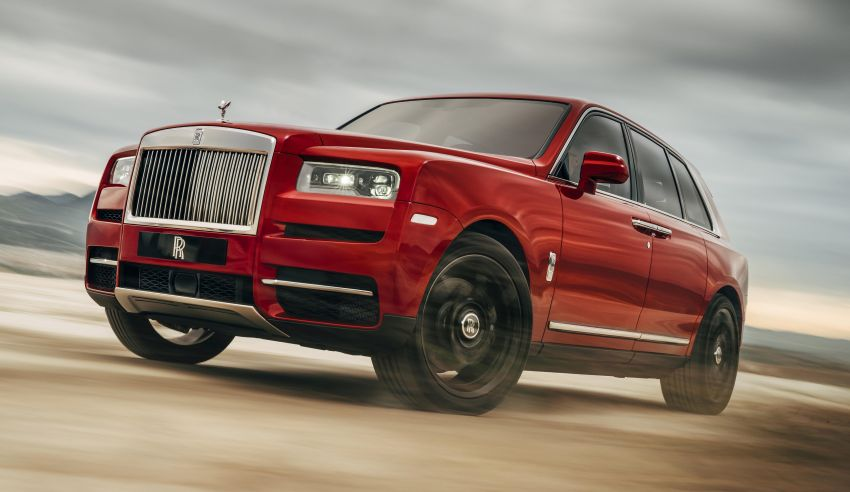 Rolls-Royce Cullinan – brand's first-ever SUV debuts Image #817129