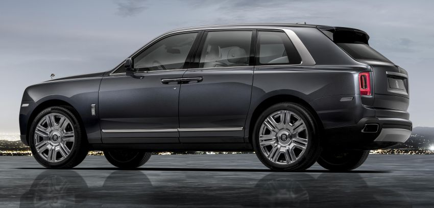 Rolls-Royce Cullinan – brand's first-ever SUV debuts Image #817083