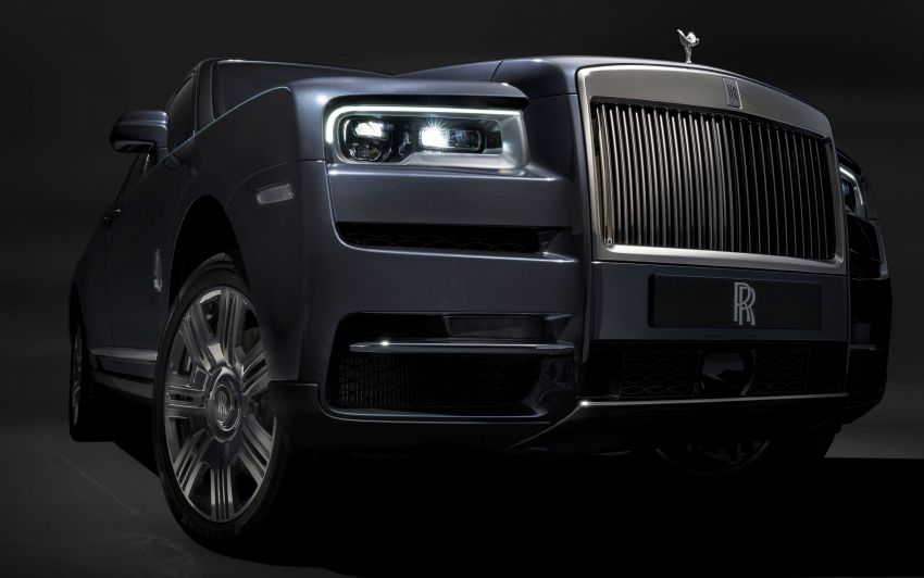 Rolls-Royce Cullinan – brand's first-ever SUV debuts Image #817089