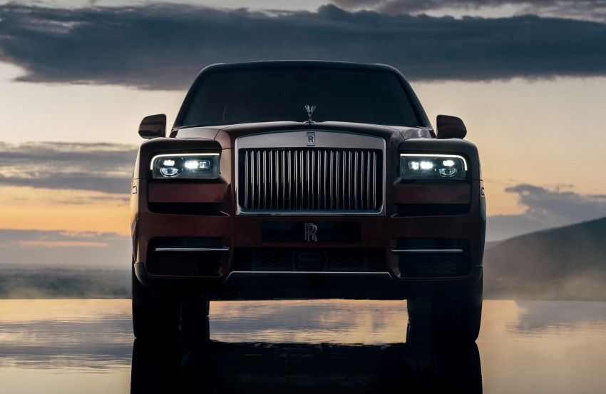Rolls-Royce Cullinan – brand's first-ever SUV debuts Image #817093