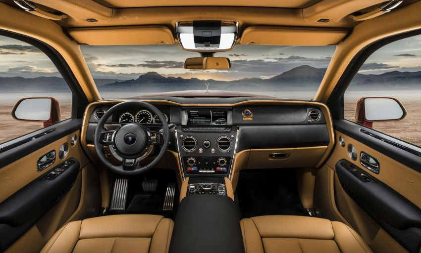 Rolls-Royce Cullinan – brand's first-ever SUV debuts Image #817106