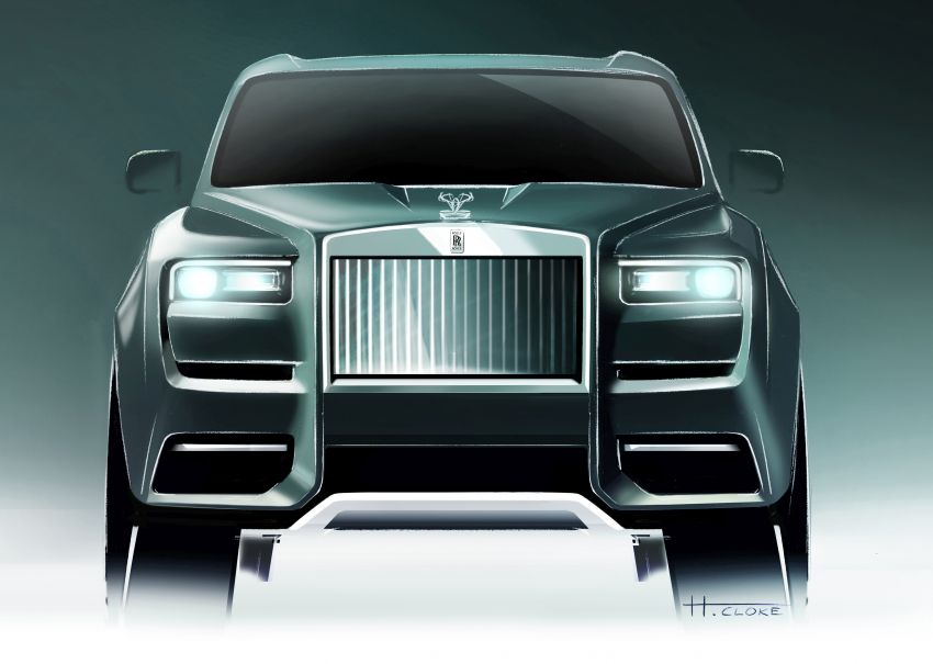 Rolls-Royce Cullinan – brand's first-ever SUV debuts Image #817119