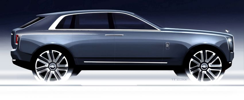 Rolls-Royce Cullinan – brand's first-ever SUV debuts Image #817125