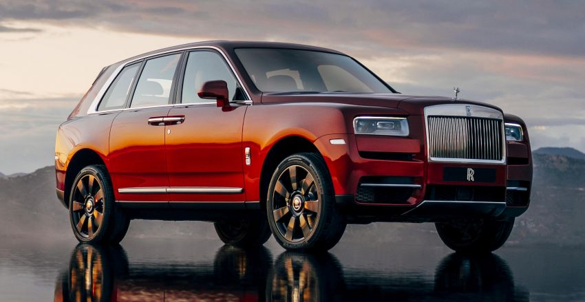 Rolls-Royce Cullinan – brand's first-ever SUV debuts Image #817135