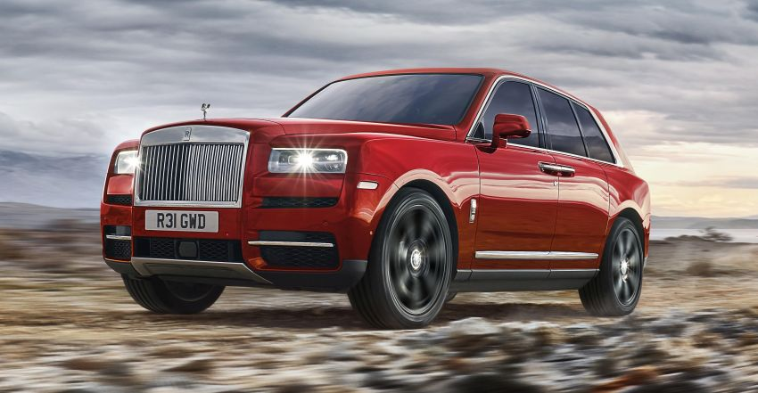 Rolls-Royce Cullinan – brand's first-ever SUV debuts Image #817136
