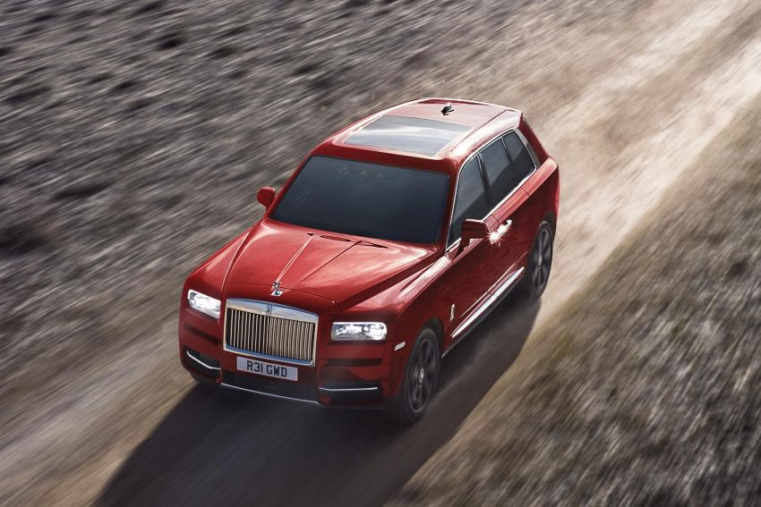Rolls-Royce Cullinan – brand's first-ever SUV debuts Image #817138